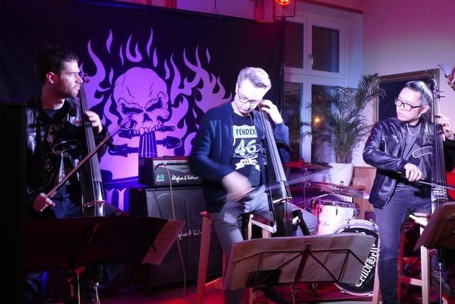 Cell of hell beschließen Livemusikreihe im Bahnhöfli in Wyhlen