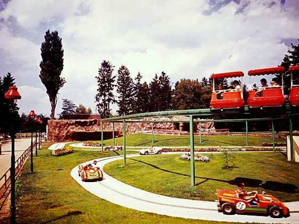 Monza-Bahn aus den frühen 1980er Jahren.  | Foto: Klaus Fischer