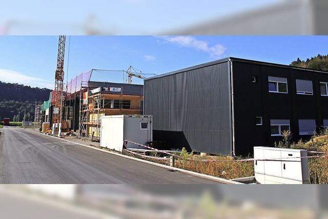 Motel für Lastwagenfahrer bald bezugsfertig