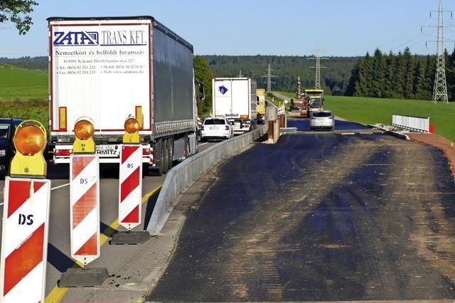 Fortschritte beim Ausbau der B 31