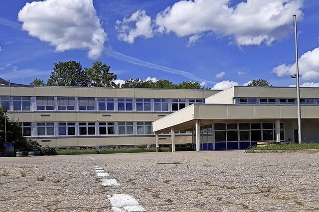 Umbauarbeiten laufen parallel zum Schulbetrieb