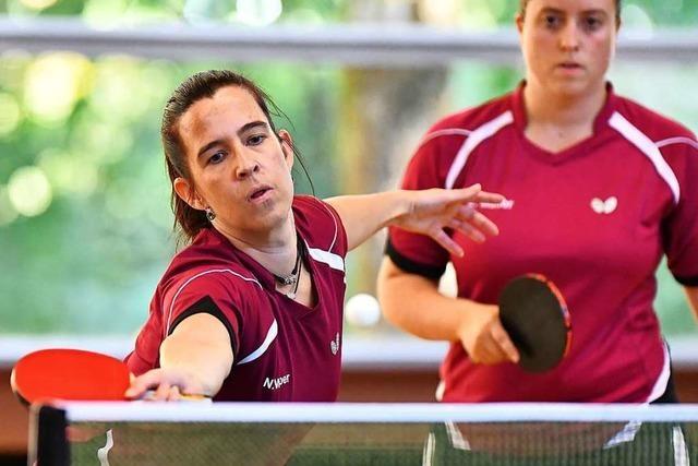 Vor dem Saisonstart gibt es im Tischtennis noch offene Frage zu klären