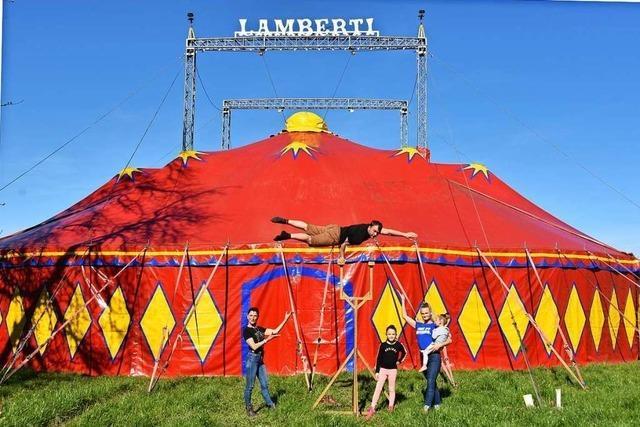 Zirkus Lamberti warnt vor falschen Spendensammlern im Raum Freiburg