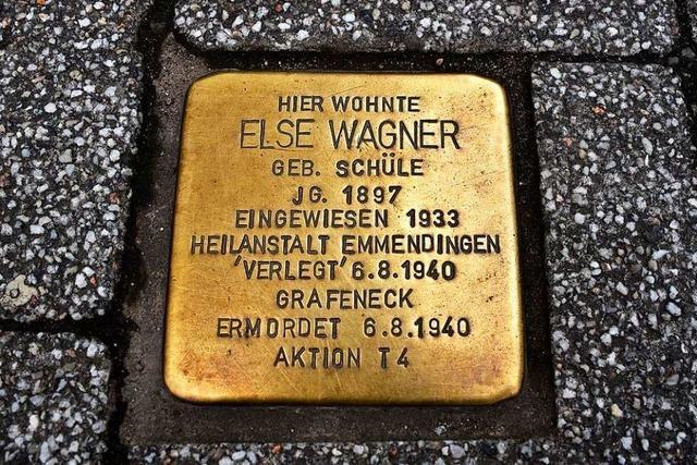 In Lörrach werden bald die ersten acht Stolpersteine verlegt