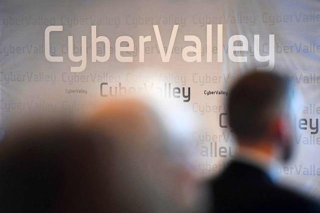 Virtueller Besuch von Bundeskanzlerin Merkel im Cyber Valley