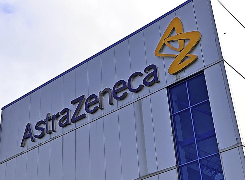Firmengebäude von Astra Zeneca    Foto: PAUL ELLIS (AFP)