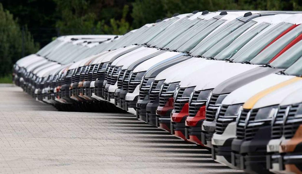 Die deutsche Autoindustrie steckt &#82...h für die Zukunft ganz neu aufstellen.    Foto: Julian Stratenschulte (dpa)
