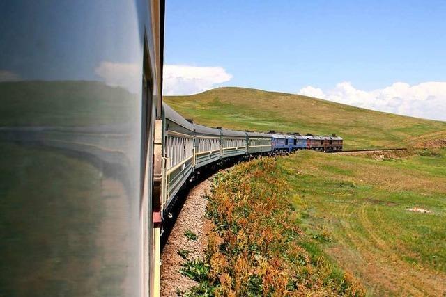 Dirk Schneider will mit der Transsibirischen bis Peking reisen