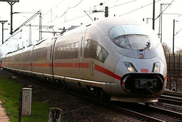 Verspätungen auf Zugstrecke zwischen Freiburg und Emmendingen