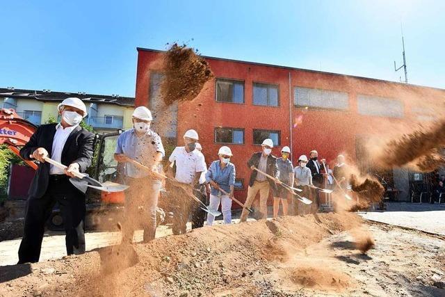 Hauptfeuerwache in Freiburg wird um Lärmschutzgebäude erweitert
