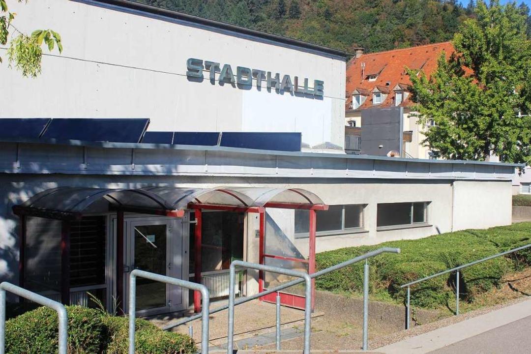 Die Waldkircher Stadthalle  | Foto: Bernd Fackler