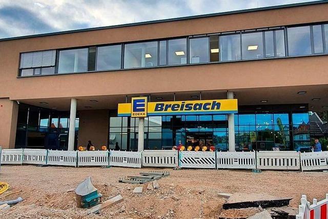 Neubau des Edeka-Markts in Breisach ist eröffnet