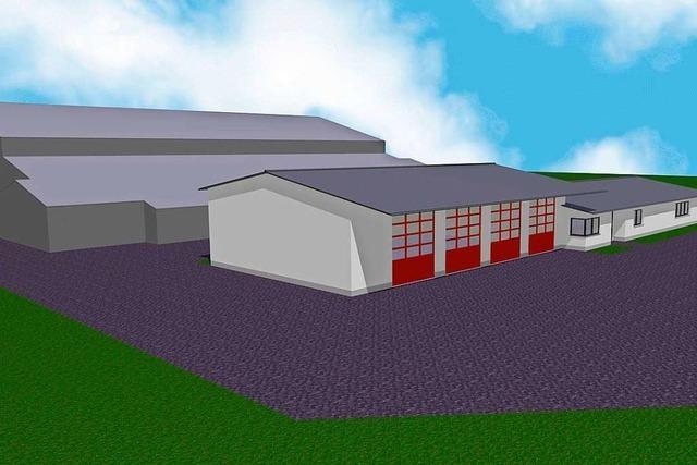 Die Planung für Bauhof und Feuerwehrhaus in Ringsheim wird konkreter