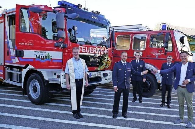 Ein Fahrzeug gegen Glut und Feuer