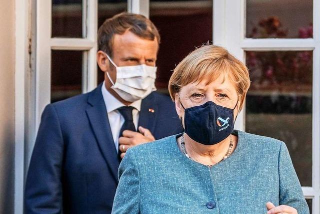 Merkel und Macron wollen 400 Flüchtlingskinder aus Moria in die EU holen