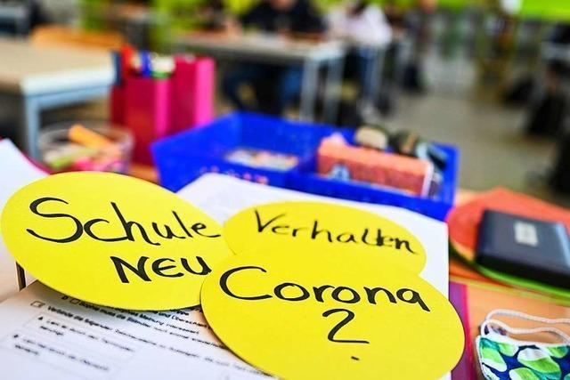 Corona-Schulstart mit viel Logistik – und Lehrermangel