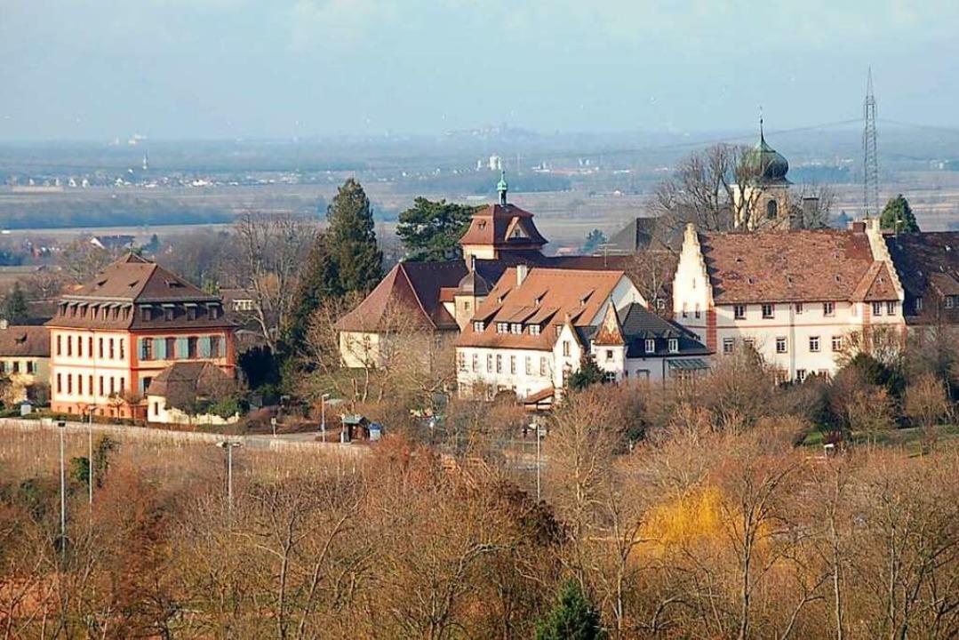 Im Heitersheimer Schloss befindet sich die Caritas-Werkstätte.  | Foto: Markus Donner