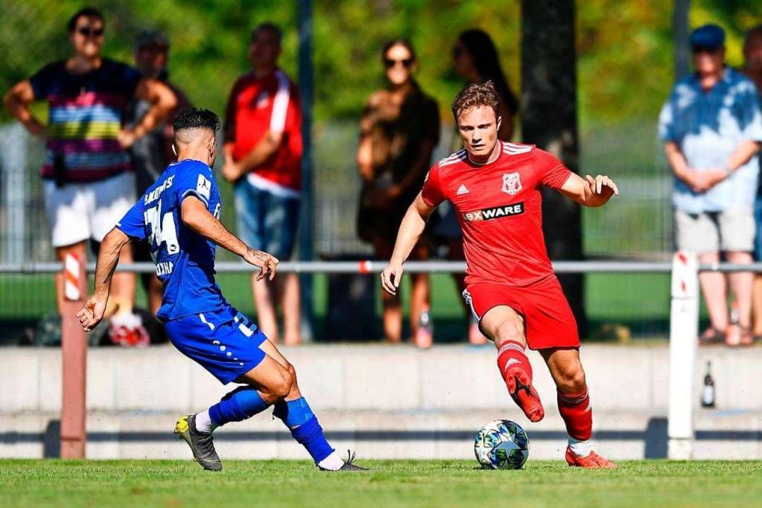 Einer der Matchwinner für den Freiburger FC:  Adriano Spoth  | Foto: Achim Keller