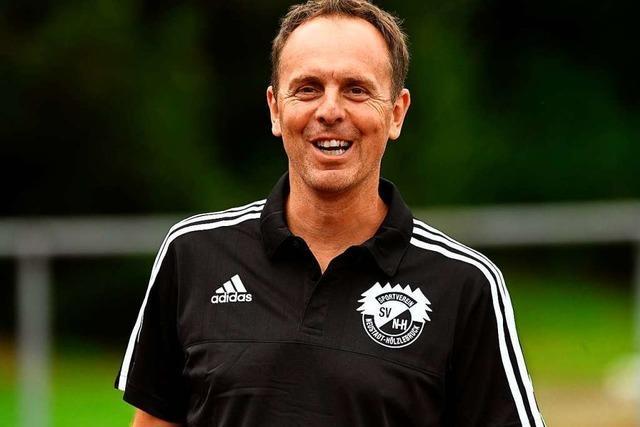 Trainer Urban vom SV Hölzlebruck: