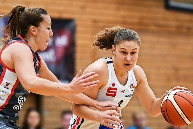 Luana Rodefeld – ein Ex-Eisvogel wird Bundeswehr-Basketballerin
