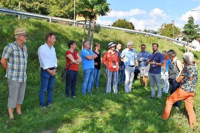 Das Lörracher Neubaugebiet Neumatt-Brunnwasser kommt später als geplant