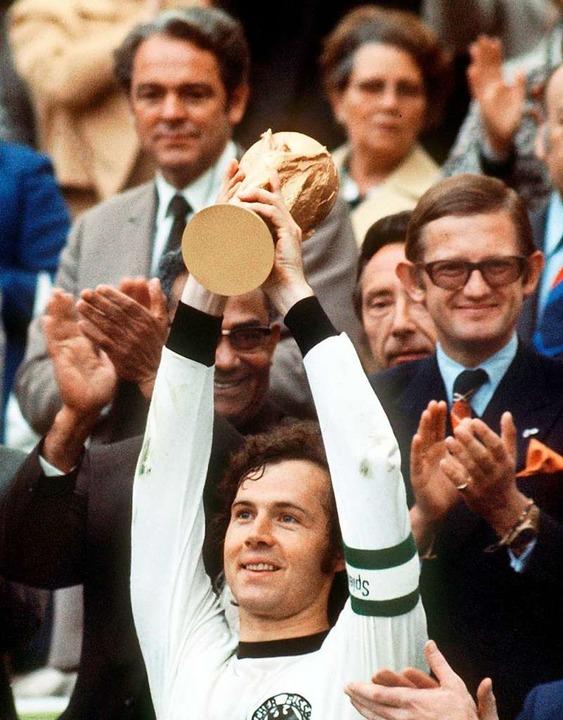 Weltmeister 1974    Foto: Hartmut Reeh (dpa)