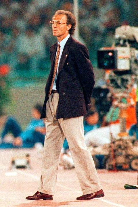 Weltmeister 1990    Foto: Frank Leonhardt (dpa)