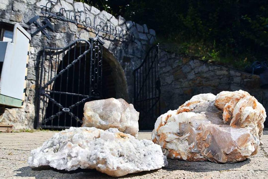 In das Besucherbergwerk Teufelsgrund w...ag der Schaden bei 3000 bis 5000 Euro.  | Foto: Max Schuler