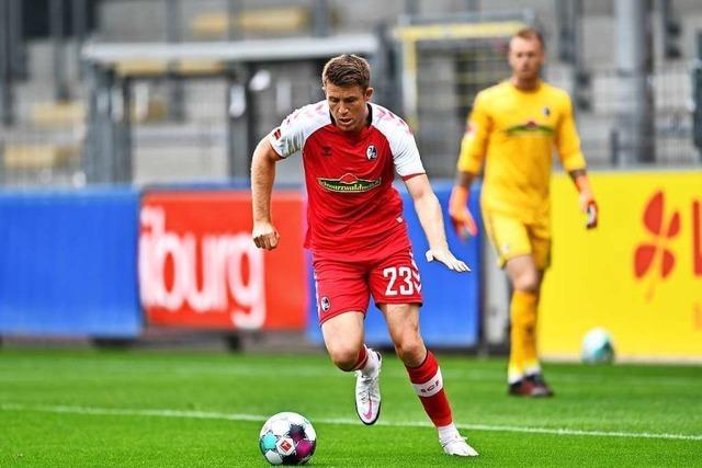 Dominique Heintz droht im Pokalspiel gegen Mannheim auszufallen