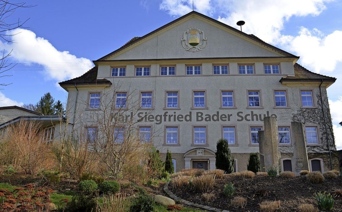 Die Grundschule des Schulzentrums Oberes Elztal in Prechtal.   | Foto: Nikolaus Bayer