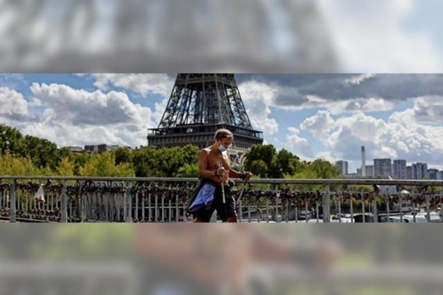 Rekord-Infektionen in Frankreich