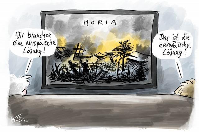 Streit um Moria-Flüchtlinge