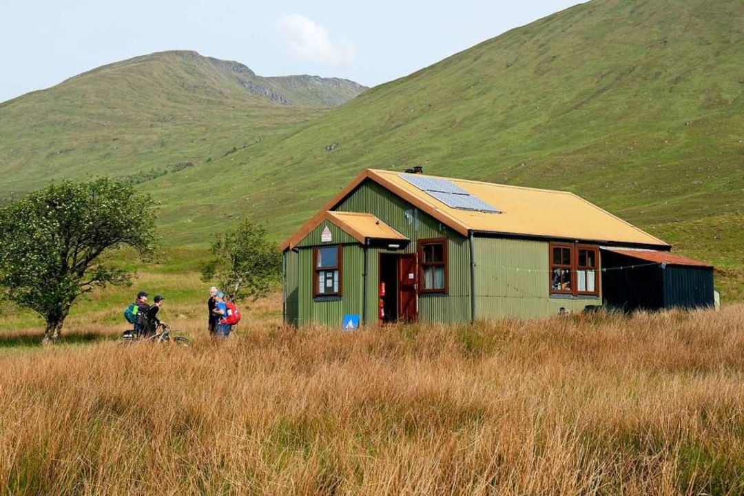 Die abgelegenste Jugendherberge  Schottlands: Allbeithe Youth Hostel  | Foto: Florian Sanktjohanser (dpa)