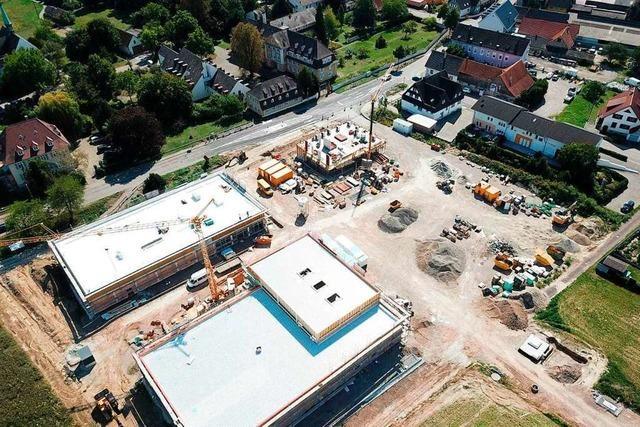 Bauarbeiten für Nahversorgung in Schwanau-Süd liegen im Zeitplan