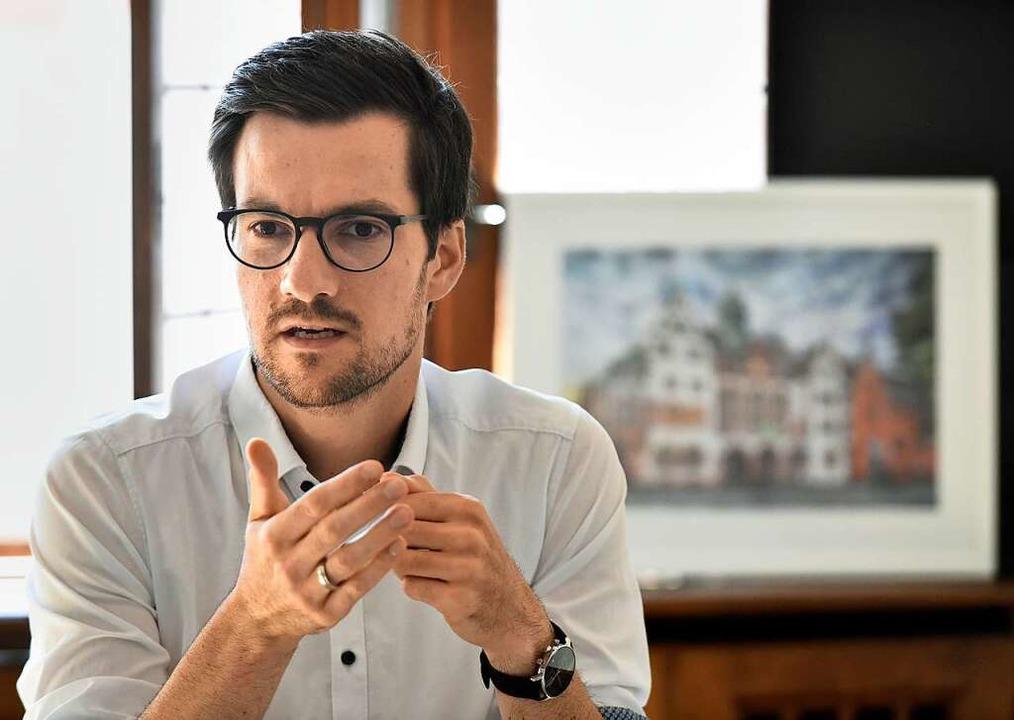 """Wenn nicht ganz Europa handelt,...n"": Martin Horn im BZ-Interview.  | Foto: Michael Bamberger"