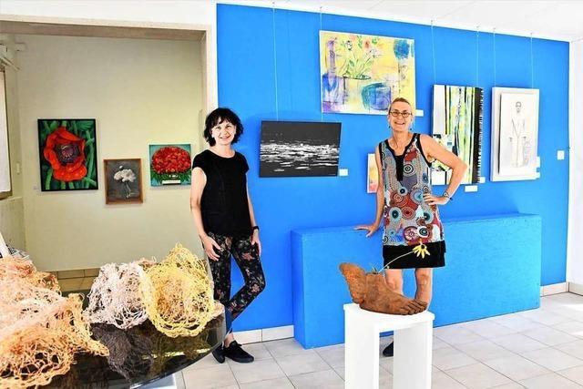 Bilder von Lörracher Kunstverein vermitteln positive Stimmung