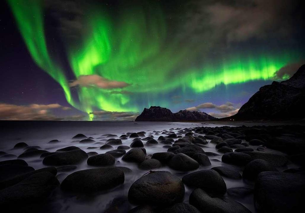 Beeindruckendes Schauspiel: Polarlichter im hohen Norden  | Foto: inigocia - Fotolia