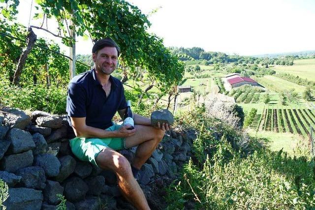 Beim Weingut Bercher-Schmidt in Oberrotweil geht es um Lage, Lage, Lage