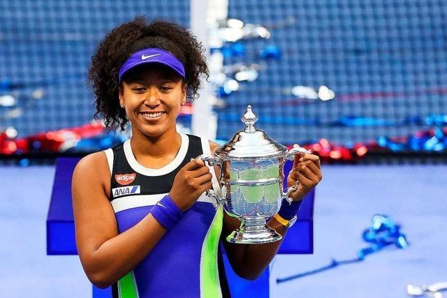 Naomi Osaka gewinnt zum zweiten Mal US Open