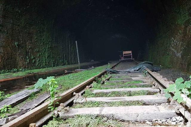 Die Wehratalbahn ist ein Relikt aus kriegerischen Zeiten