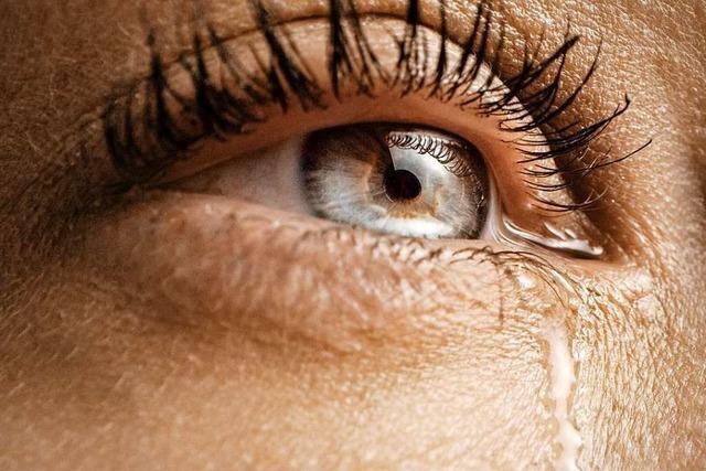 Weinen fördert das seelische Gleichgewicht und den sozialen Umgang