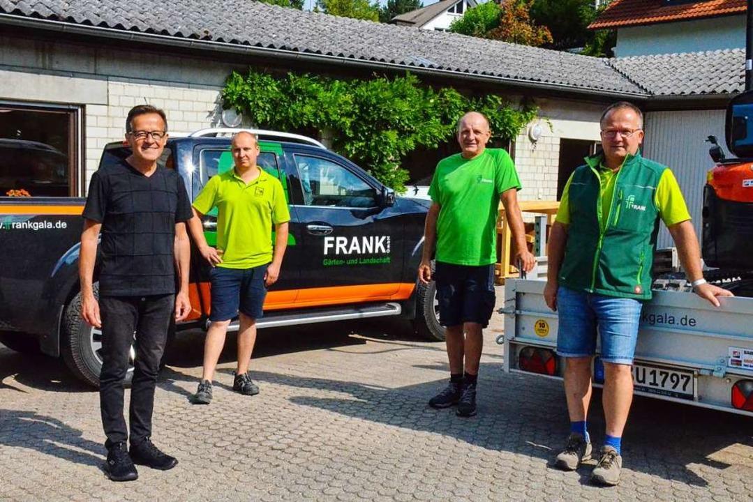 Ex-Geschäftsführer Marcell Waltzer, Ba...chäftsführer Roman Gutmann (von links)  | Foto: Gabriele Hennicke