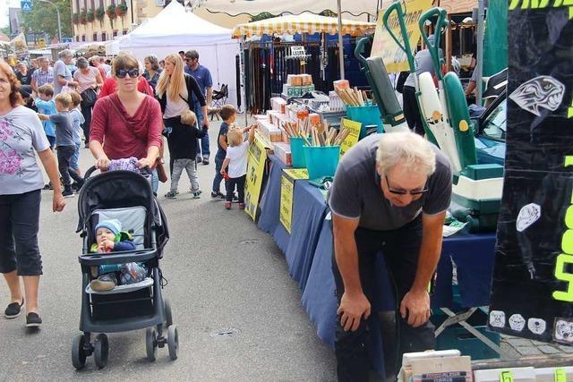 Jahrmarkt in Eichstetten wird am Dienstag eröffnet – mit Corona-Regeln