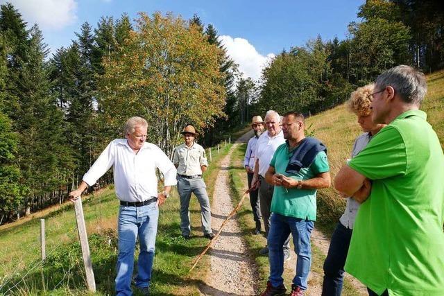 Umweltminister lobt Zusammenarbeit von Landwirtschaft und Naturschutz im Kleinen Wiesental