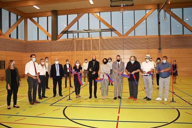 Die neue Rheingießenhalle ist für den Betrieb bereit