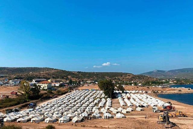 Die Lage der Geflüchteten auf Lesbos bleibt angespannt
