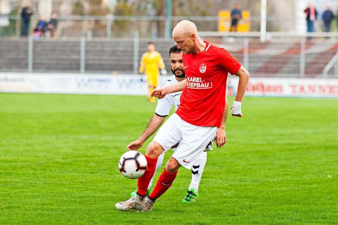 Marco Junker (OFV) verletzte sich gegen Endingen.  | Foto: Alexandra Buss