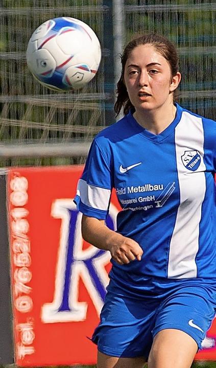 Laufstark: Sophia Herrmann vom SV Titisee   | Foto: Wolfgang Scheu