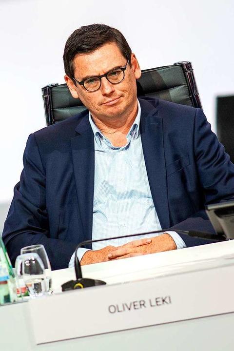 SC-Finanzvorstand Oliver Leki  | Foto: Andreas Gora