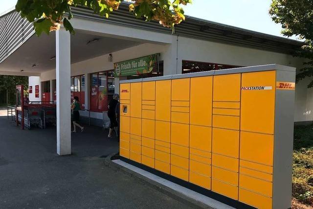 DHL installiert erste Packstation in Bad Krozingen